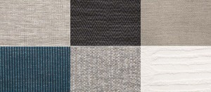 """a glimpse of the """"Great Outdoors"""" spring 2015 collection... beautiful tonal neutrals that Holly Hunt is known for."""